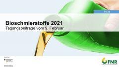 Bioschmierstoffe - Onlinetagung 2021