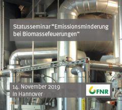 """Statusseminar """"Emissionsminderung bei Biomassefeuerungen"""""""