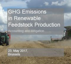 GHG Emissions in Renewable Feedstock Production - Accounting and Mitigation
