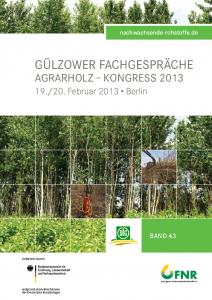 Band 43: Kongress Agrarholz 2013