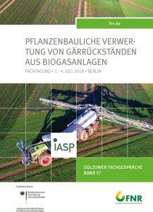 Band 57: Pflanzenbauliche Verwertung von Gärrückständen aus Biogasanlagen