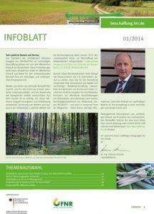 Titel InfoBlatt 1/2014