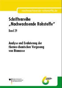 Band 29: Analyse und Evaluierung der thermo-chemischen Vergasung von Biomasse