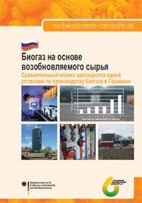 Биогаз на основе возобновляемого сырья - Сравнительный анализ шестидесяти одной установки по производству биогаза в Германии (Russische Kurzfassung Biogas-Messprogramm II )
