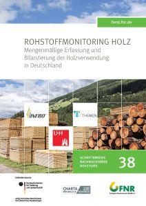 Titelbild e-Book Rohstoffmonitoring Holz